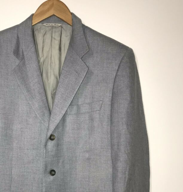 Canali Men's Wool Blazer Made in Italy Size 50 | eBay