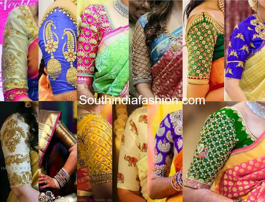 Top 20 Most Trending Blouse Designs For Silk Sarees