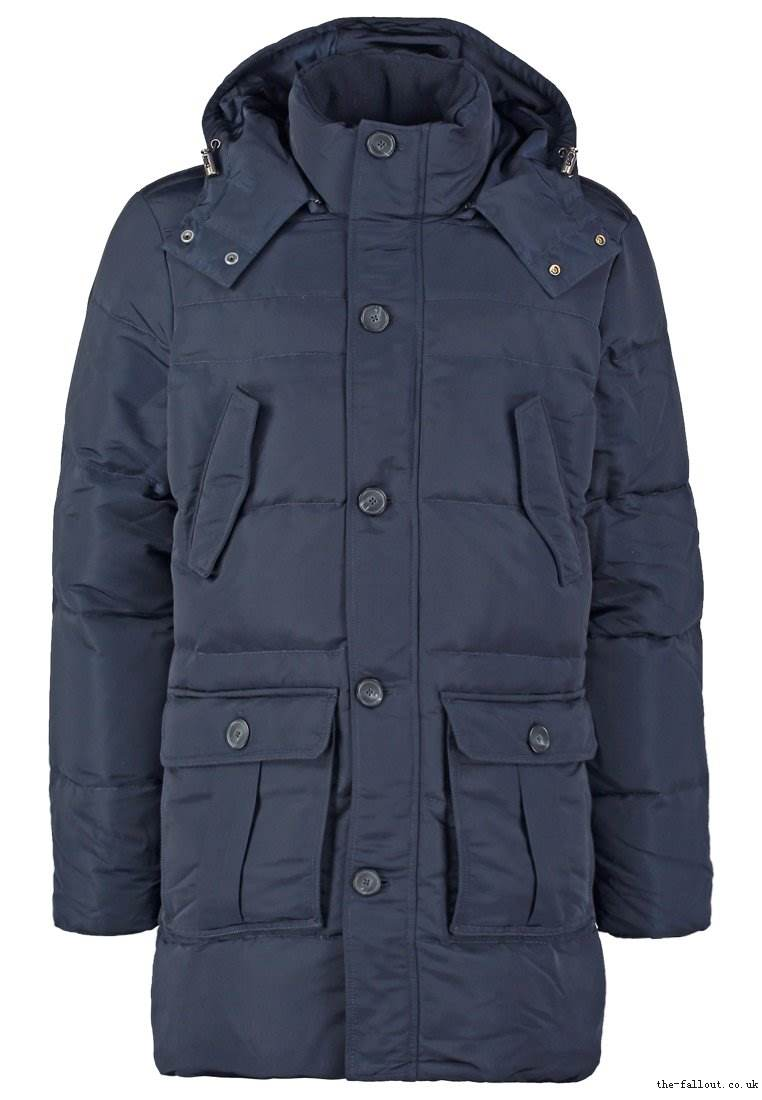 Benetton Down coat - dark blue - men's coats - 1702592