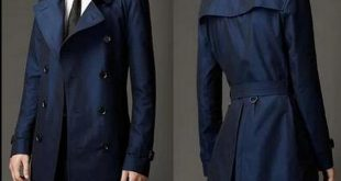 Khaki blue mens trench coats Double breasted men pea european style coats  fashion belt men's overcoat british coat plus size 9XL-in Trench from Men's  ...