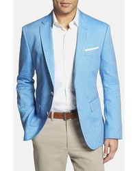 ... Hugo Boss Boss Jarett Trim Fit Linen Wool Blazer