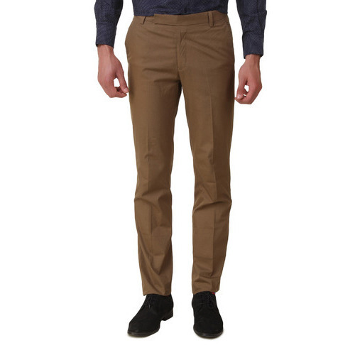 Mens Formal Brown Pant