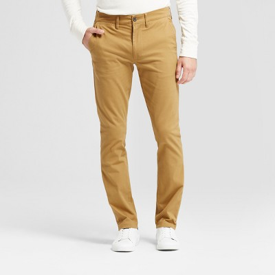 Brown men's pants for work and leisure