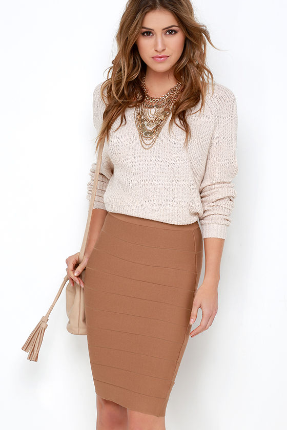 The brown skirt – boundless color variety