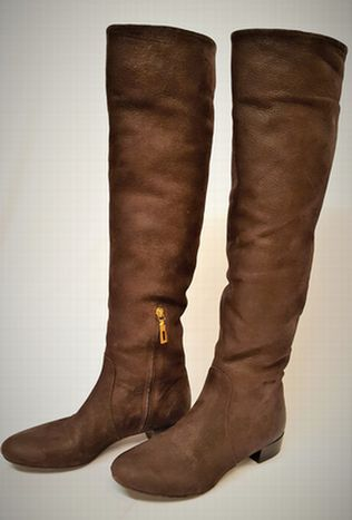 WOMENS-PRADA-Brown-Leather-Casual-BOOTS_5219829A.jpg ...