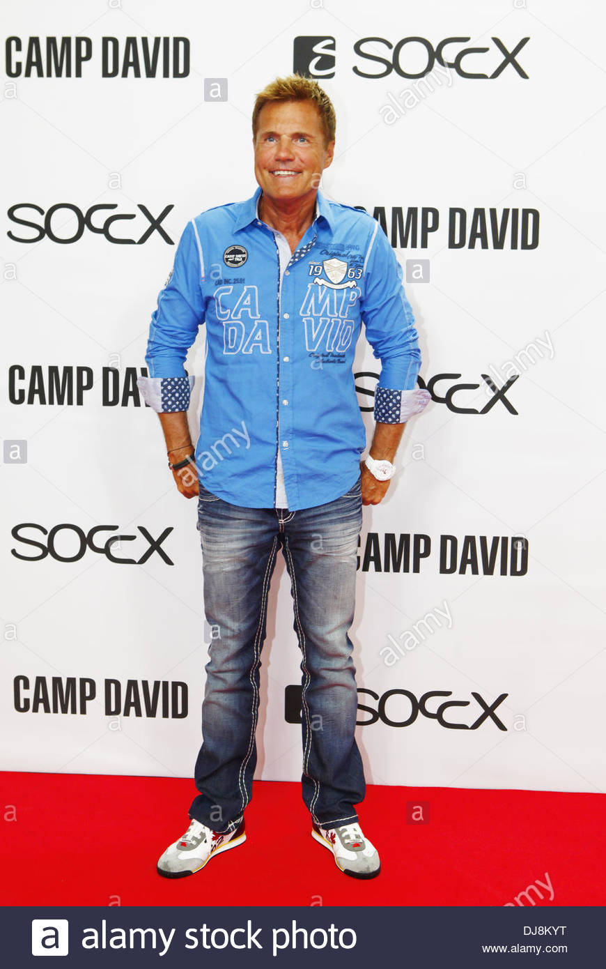 Dieter Bohlen at the Camp David/Soccx fashion show during the Mercedes-Benz  Fashion