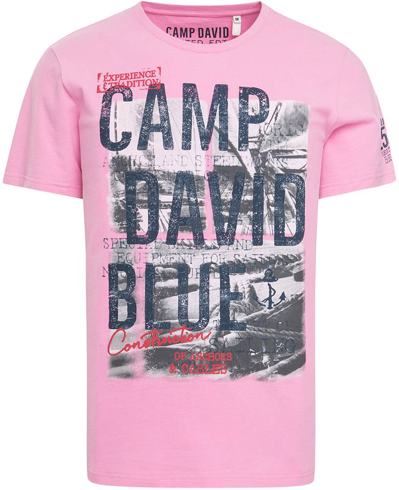Camp David t-shirts in fashionable colors and prints