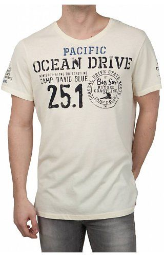 Camp David Camp David ® T-Shirt Pacific Ocean Drive
