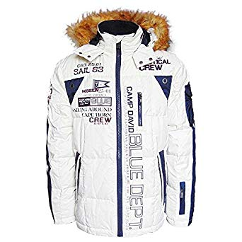 Camp David Cape Horn II Limited Winter Down Jacket - White - XX-Large