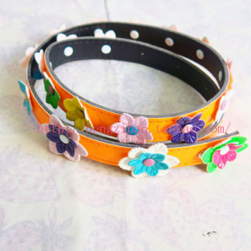 China cute children belt little girl belts girls belt kids belt kids fancy  flower belts