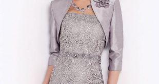Short lace dress and bolero ...