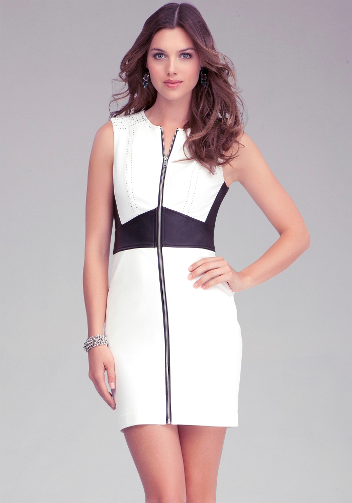Dresses with zipper