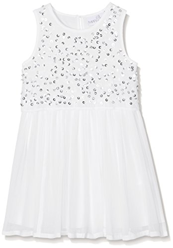 Eisend Girlu0027s Hailey Dress, Elfenbein (Ecru 11), 10 Years from Eisend