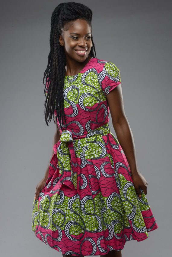 50+ best African print dresses | Looking for the best u0026 latest African  print dresses