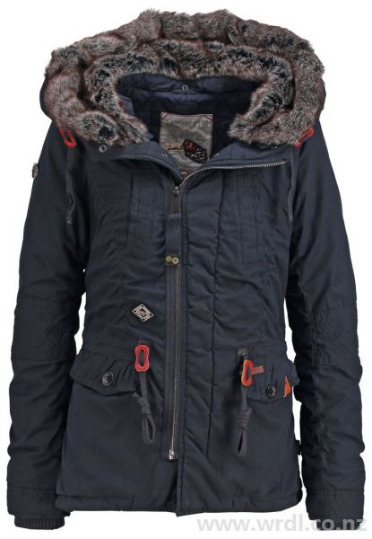 Buy khujo Women's FRAN Winter jacket navy at Wrdl.co.nz | Jackets