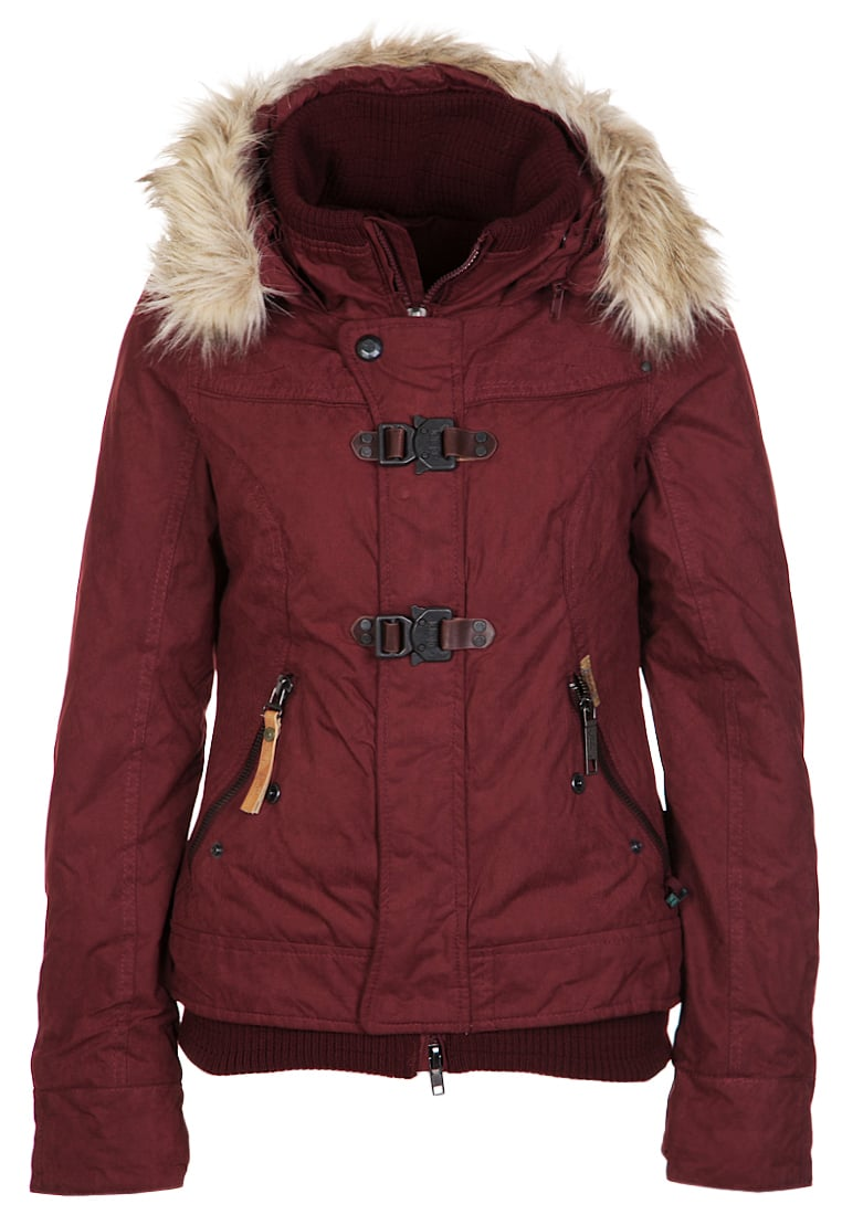 khujo ASHLEY - Winter jacket wine red Women Jackets,khujo parka chantal xxl, khujo