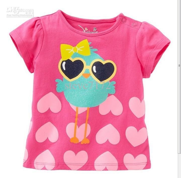 2019 Girls T Shirts Boys Tees Shirts Baby Tshirt Tank Tops Short Sleeve  Cotton Shorts Blouses Kids Singlets Toddler Jersey Tops M1589 From  Steve7172,