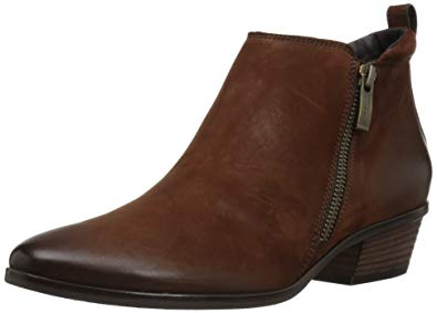 Paul Green Womenu0027s Jillian Bootie Ankle, Cigar Nubuck, ...