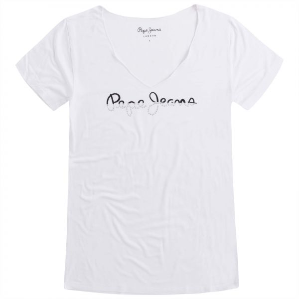Pepe Jeans T-Shirt for Women - White
