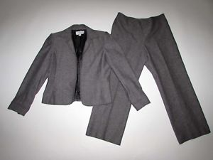 Image is loading Liz-Claiborne-Women-039-s-Pant-Suit-Size-