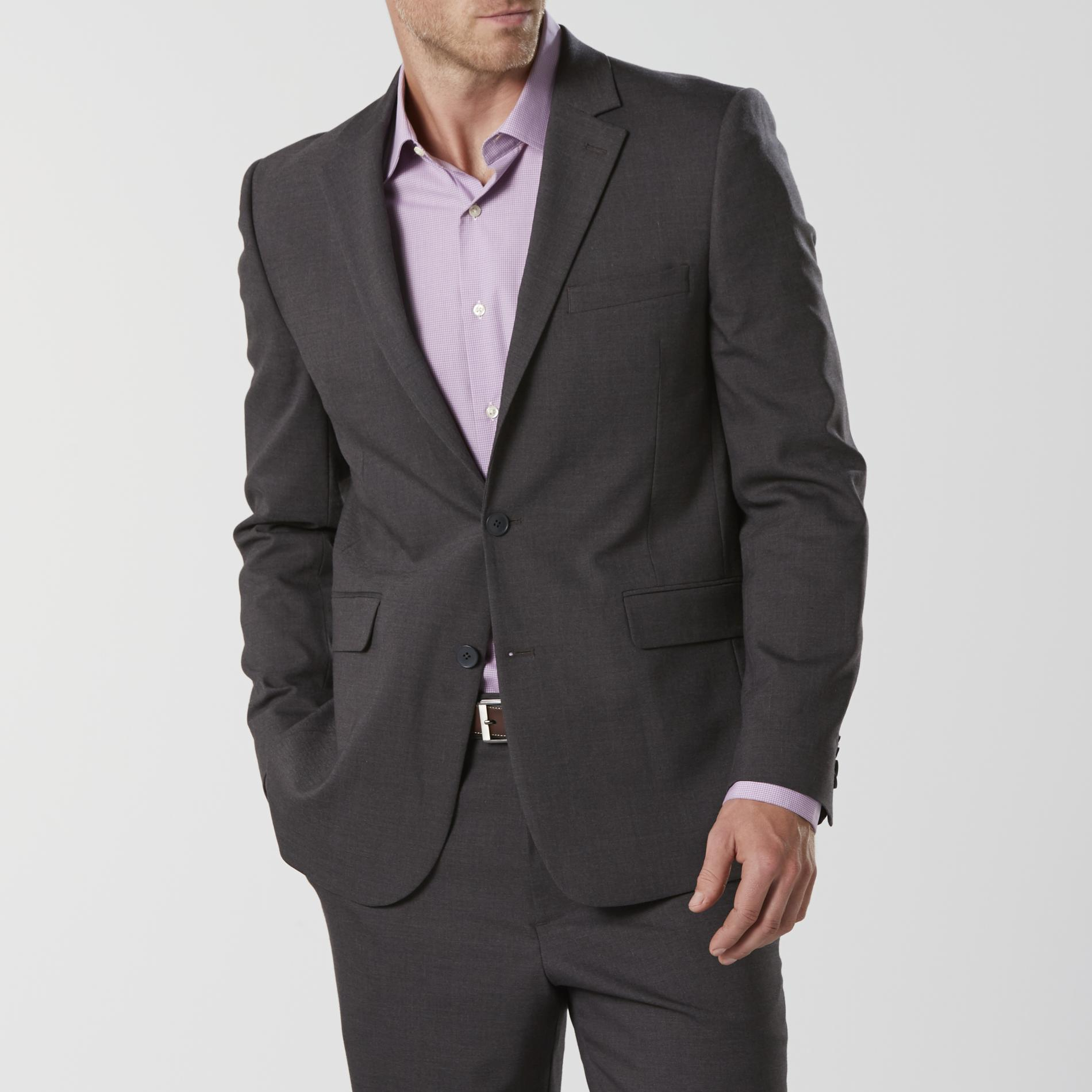 Structure Men's Modern Fit Suit Jacket - Heathered
