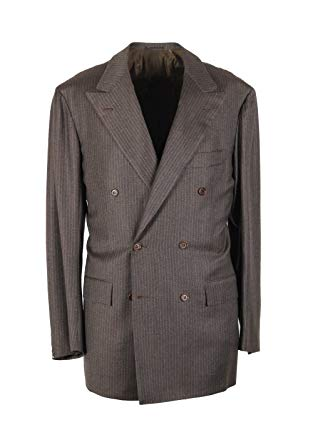 CL - Kiton Suit Size 50 / 40R U.S. Drop R7