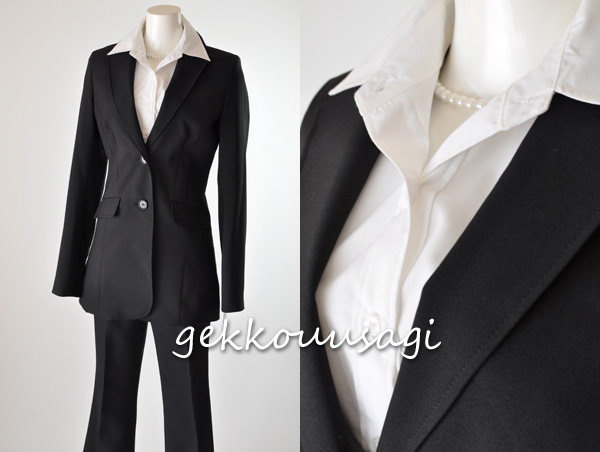 ◇ large small size 7 / 9, / 11 / 13 / 15 / 17, / no. 19 / No. 21 / 23,  25, size torture size leg pantsuit business suits recruit suit choice eat  nor