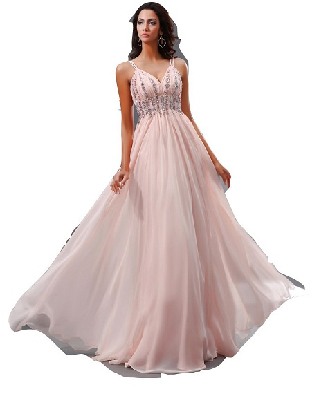 Custom made long plus size prom dresses 2018 - 30, 28, 26, 32 34