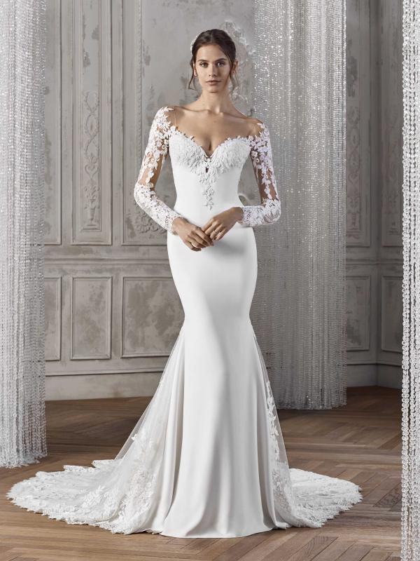 KARAH ST PATRICK STUDIO 2019 OFF WHITE WEDDING DRESS LUV BRIDAL AUSTRALIA