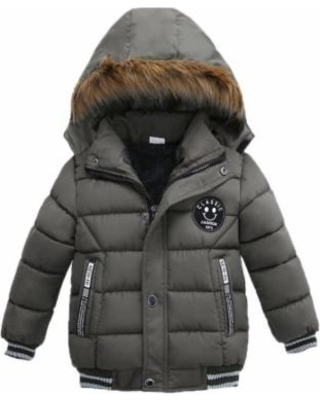 Binmer® Hot Sale Fashion Kids Coat Boys Girls Thick Coat Padded Winter  Jacket Clothes