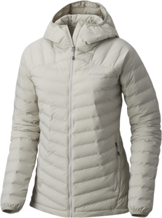 Columbia Open Site Hooded Insulated Jacket - Womenu0027s Light Cloud