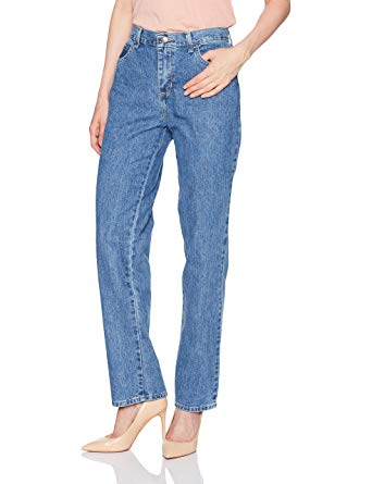 LEE Women's Missy Relaxed Fit All Cotton Straight Leg Jean, aero, ...
