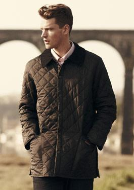 Inspired buy the original Liddesdale, the Heritage Liddesdale Quilted  Jacket provides the same wind-resistant synthetic outer, quilted to a warm  wadding and