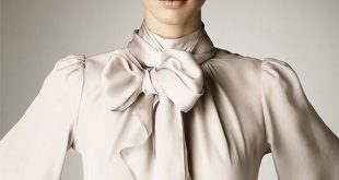 bow blouse / this bow commands obedience …