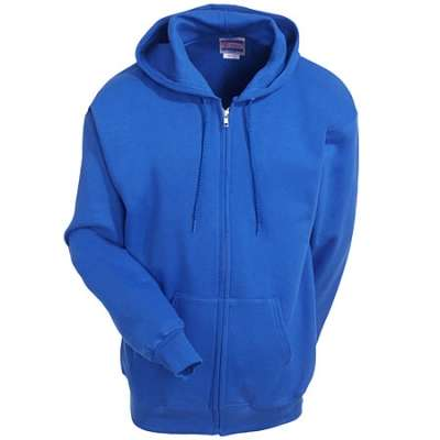 Hanes Sweatshirts: Cotton Blend Fleece Hooded Sweatshirt F283