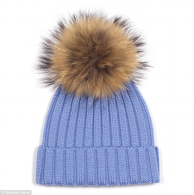 They are the must-have accessory of the season - the furry pom-pom
