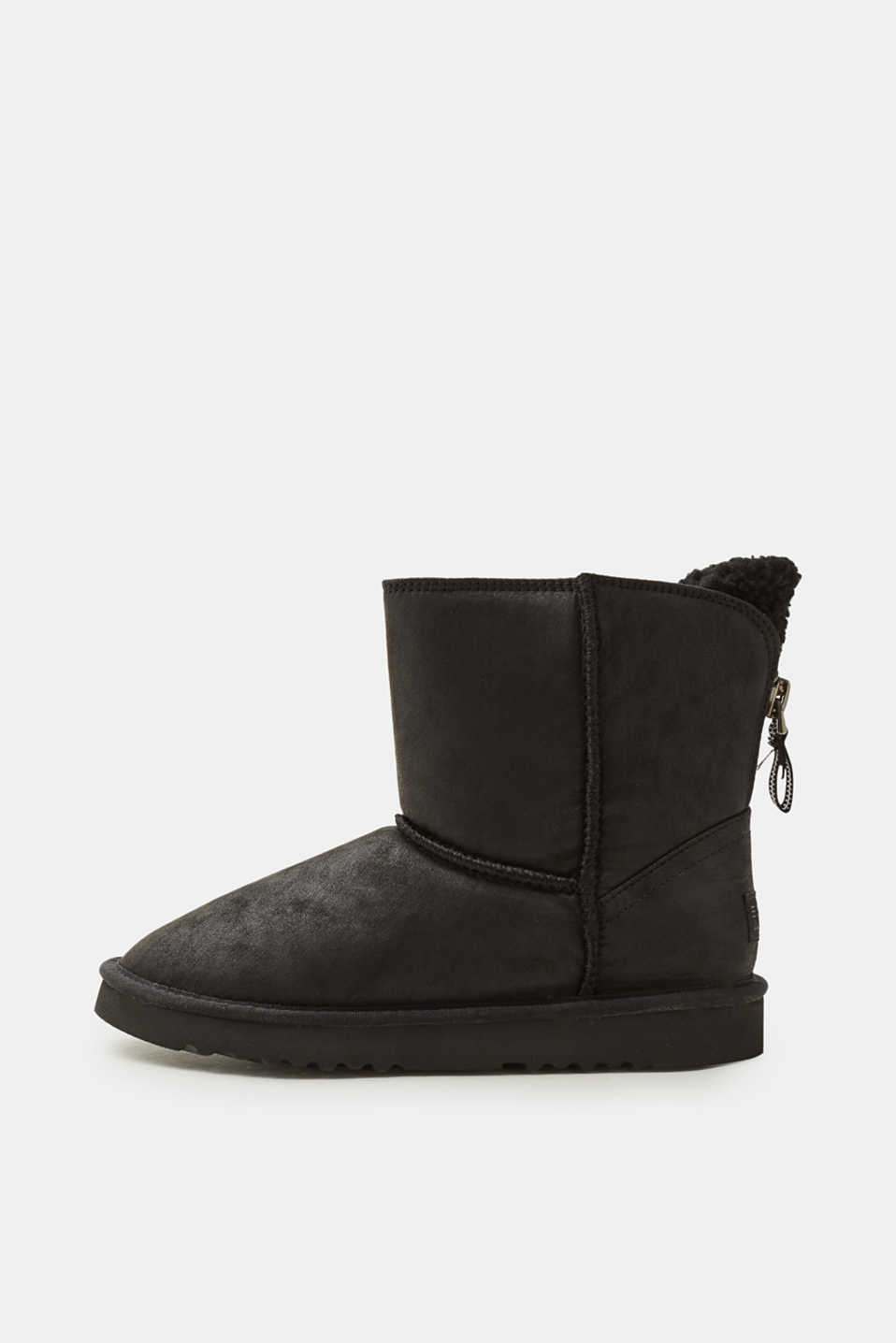 Esprit - Winter boots with teddy fur lining