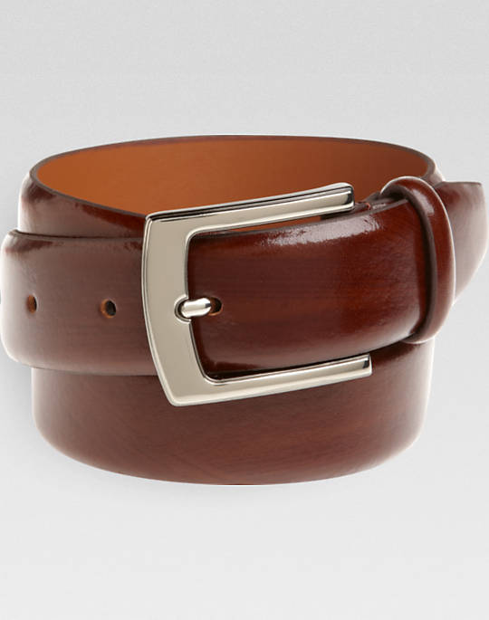 Brown leather belts have a long tradition