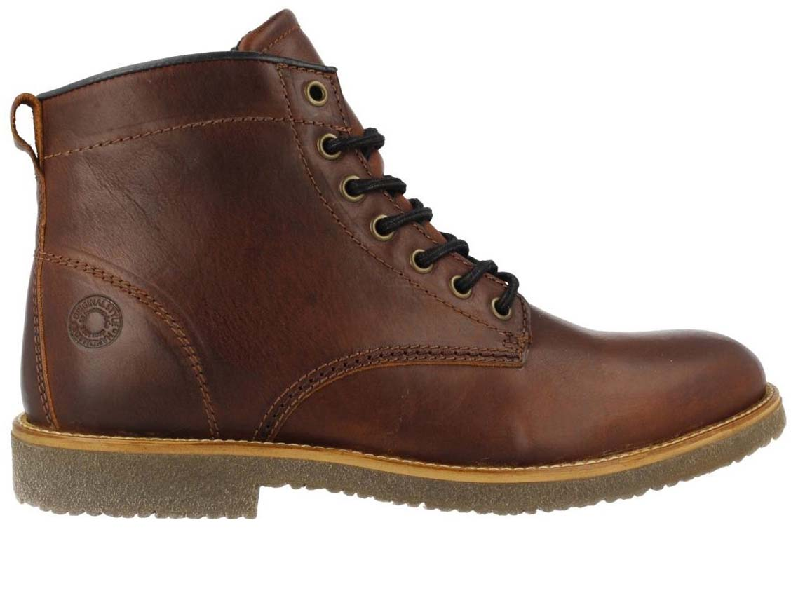 Brown lace BULLBOXER boots