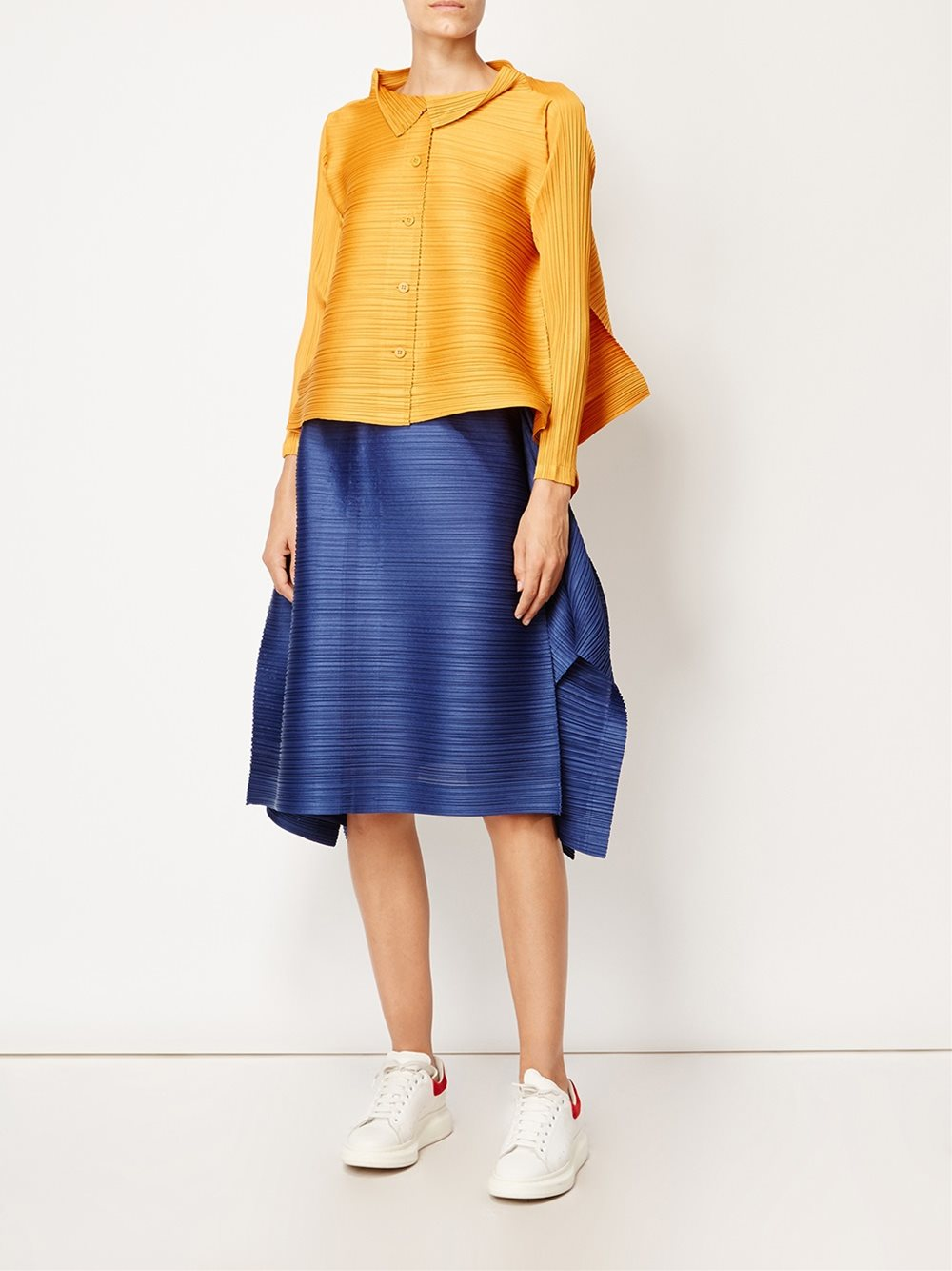 Pleats please by issey miyake elasticated waist pleated skirt 73 women  clothing ,Pleats Please By