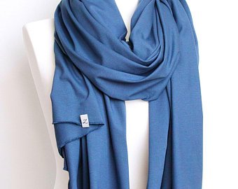 Cotton shawl wrap, lightweight to medium cotton scarf shawl, women scarf,  travel scarf wrap, gift for her, cotton scarf, blue scarf, scarves
