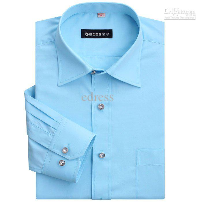 New men`s designer dress shirts cotton shirt long sleeve shirt solid color  shirts,Men`s Business shirts 9colors HQ