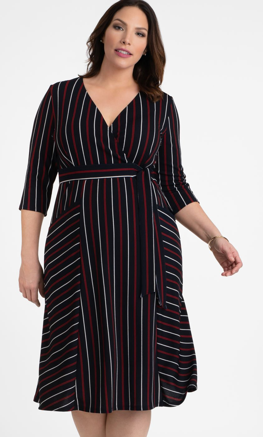 Harmony Faux Wrap Dress
