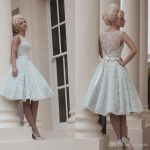 Knee-length wedding dresses for a fairytale wedding