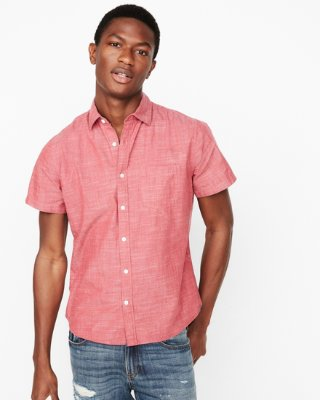 Men's Short Sleeve Shirts - Express