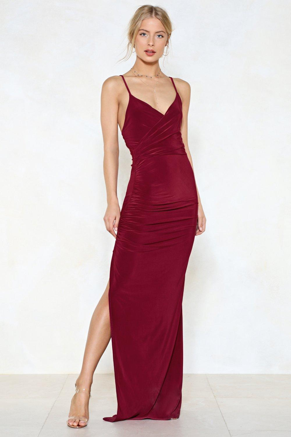 A slit dress for every occasion and every taste