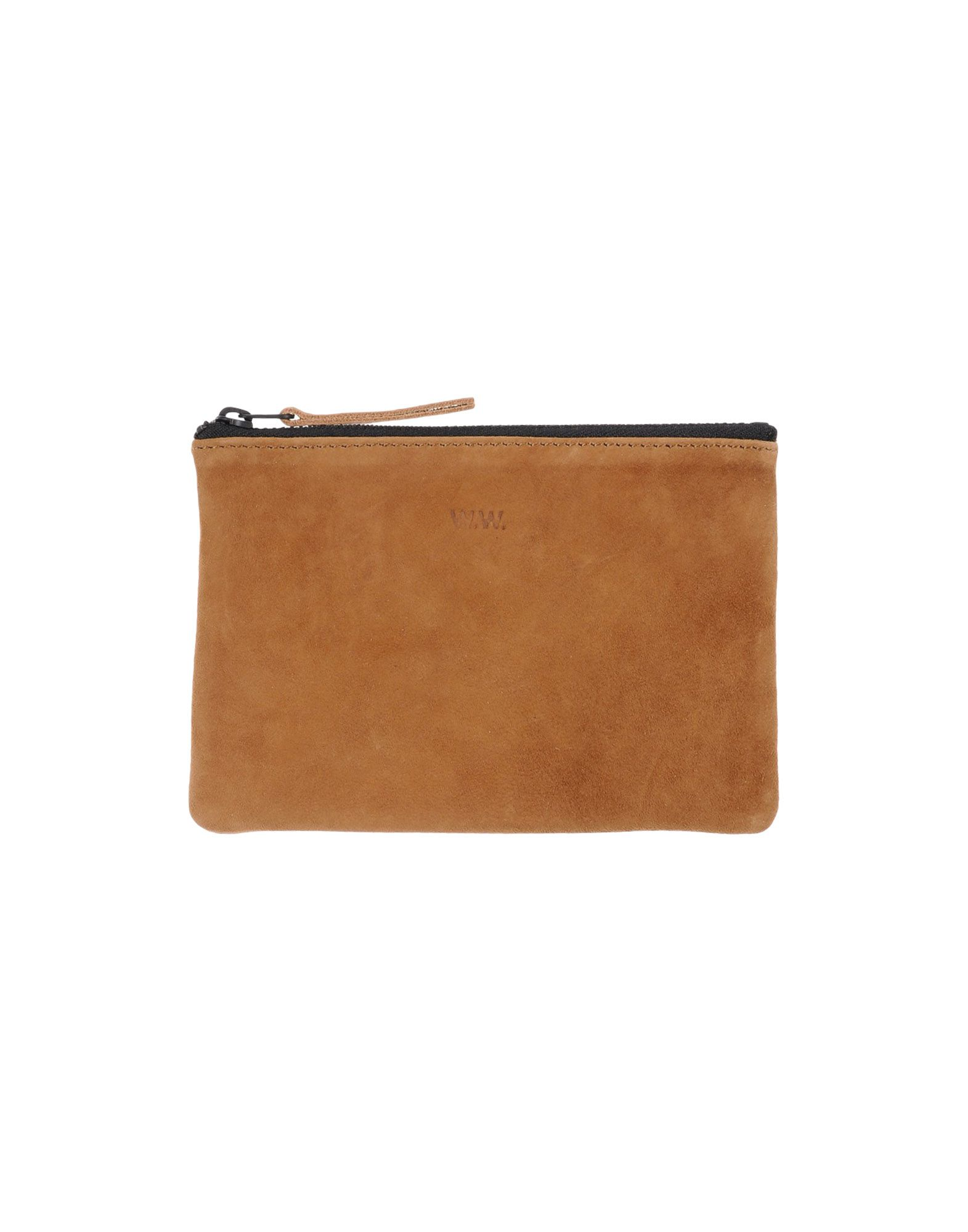 WOODWOOD Small Leather Goods Brown women Accessories,wood wood  Womenswear,Cheapest,Wood Wood