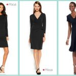 Stylish dresses in black – dignified at a funeral