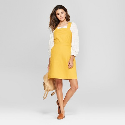 Women's Apron Dress - Universal Thread™ Yellow : Target