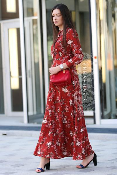 Autumn Flower Dress | Islamic clothes online |women's clothing